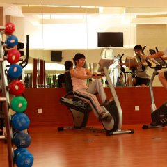 Отель Grand Soluxe Hotel & Resort, Sanya Китай, Санья - отзывы, цены и фото номеров - забронировать отель Grand Soluxe Hotel & Resort, Sanya онлайн фитнесс-зал