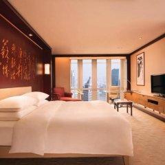 Отель Grand Hyatt Shanghai комната для гостей фото 5