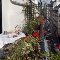 Hotel Saint Petersbourg Opera балкон
