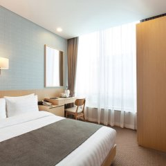 Отель Loisir Hotel Seoul Myeongdong Южная Корея, Сеул - 3 отзыва об отеле, цены и фото номеров - забронировать отель Loisir Hotel Seoul Myeongdong онлайн комната для гостей фото 3