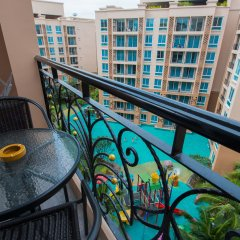 Отель Atlantis Pattaya High Service балкон