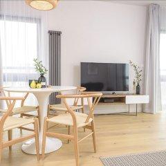 Отель Novis Apartments Panorama View Польша, Варшава - отзывы, цены и фото номеров - забронировать отель Novis Apartments Panorama View онлайн комната для гостей фото 2