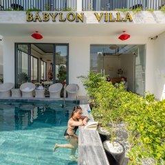 Отель Babylon Villa бассейн фото 2