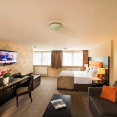 Отель Edinburgh Capital Hotel Великобритания, Эдинбург - отзывы, цены и фото номеров - забронировать отель Edinburgh Capital Hotel онлайн комната для гостей фото 2