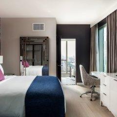 Отель Indigo Los Angeles Downtown, an IHG Hotel США, Лос-Анджелес - отзывы, цены и фото номеров - забронировать отель Indigo Los Angeles Downtown, an IHG Hotel онлайн комната для гостей фото 5