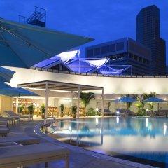 Отель Pan Pacific Singapore бассейн