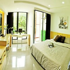 Отель Marigold Ramkhamhaeng Boutique Apartment Таиланд, Бангкок - отзывы, цены и фото номеров - забронировать отель Marigold Ramkhamhaeng Boutique Apartment онлайн комната для гостей фото 2