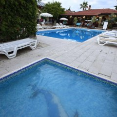 Leda Beach Hotel Сиде бассейн фото 2