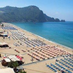 Alaiye Kleopatra Hotel пляж