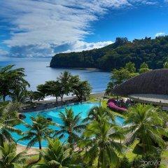 Отель Tahiti Pearl Beach Resort Французская Полинезия, Аруе - отзывы, цены и фото номеров - забронировать отель Tahiti Pearl Beach Resort онлайн бассейн фото 3