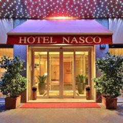 Отель NASCO Милан вид на фасад