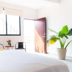 Отель Dewl Studios & Residences - The Kahlo Мексика, Плая-дель-Кармен - отзывы, цены и фото номеров - забронировать отель Dewl Studios & Residences - The Kahlo онлайн комната для гостей фото 2