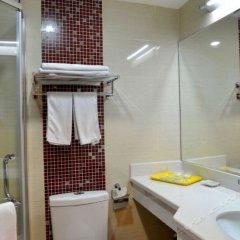 Отель Zhongan Inn Meiyuan Hotel Китай, Сиань - отзывы, цены и фото номеров - забронировать отель Zhongan Inn Meiyuan Hotel онлайн ванная