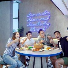 Отель lyf Funan Singapore by Ascott Сингапур питание