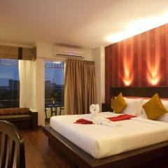 Отель Suvarnabhumi Suite Бангкок комната для гостей фото 4