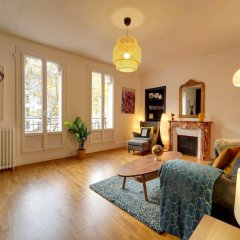 Апартаменты Apartment With 2 Bedrooms in Boulogne-billancourt, With Furnished Terrace and Wifi Булонь-Бийанкур фото 3