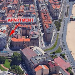 Отель Sausalito - Iberorent Apartments Испания, Сан-Себастьян - отзывы, цены и фото номеров - забронировать отель Sausalito - Iberorent Apartments онлайн спортивное сооружение
