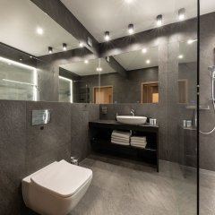 Отель Aparthotel New Lux Вроцлав ванная фото 2