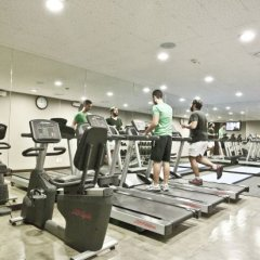 Отель Four Points By Sheraton Seoul, Namsan фитнесс-зал фото 3