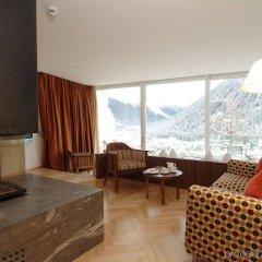 Отель Waldhotel Davos Швейцария, Давос - отзывы, цены и фото номеров - забронировать отель Waldhotel Davos онлайн комната для гостей фото 2