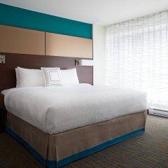 Отель Residence Inn by Marriott Montreal Downtown Канада, Монреаль - отзывы, цены и фото номеров - забронировать отель Residence Inn by Marriott Montreal Downtown онлайн комната для гостей фото 2