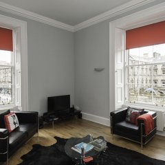 Отель Parliament Apartment Великобритания, Эдинбург - отзывы, цены и фото номеров - забронировать отель Parliament Apartment онлайн комната для гостей фото 3