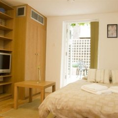 Отель Notting Hill Garden Studios Великобритания, Лондон - отзывы, цены и фото номеров - забронировать отель Notting Hill Garden Studios онлайн комната для гостей фото 4