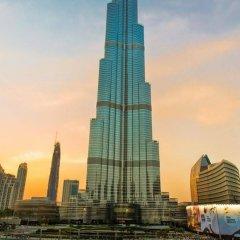 Апартаменты Downtown Al Bahar Apartments Дубай вид на фасад