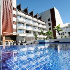 Отель Tahiti Nui Французская Полинезия, Папеэте - отзывы, цены и фото номеров - забронировать отель Tahiti Nui онлайн бассейн фото 2