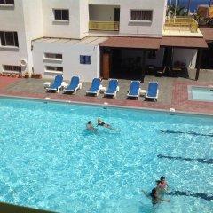 Отель Kokkinos Hotel Apartments Кипр, Протарас - отзывы, цены и фото номеров - забронировать отель Kokkinos Hotel Apartments онлайн бассейн