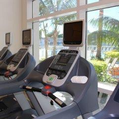 Отель Hilton San Diego Bayfront фитнесс-зал
