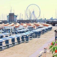 Hotel Maria Serena Римини пляж