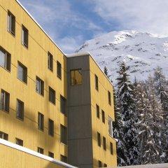 Отель Youth Hostel St. Moritz Швейцария, Санкт-Мориц - отзывы, цены и фото номеров - забронировать отель Youth Hostel St. Moritz онлайн вид на фасад