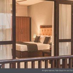 Отель Palm Beach Inn and Sea Shells Cabanas Шри-Ланка, Бентота - отзывы, цены и фото номеров - забронировать отель Palm Beach Inn and Sea Shells Cabanas онлайн комната для гостей фото 5