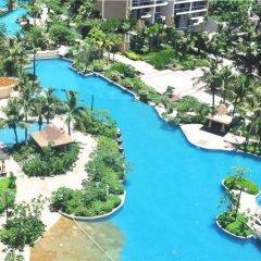 Апартаменты Sanya Haizhixing Seascape Holiday Apartment бассейн