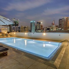 Отель Wyndham Dubai Marina Дубай бассейн фото 3