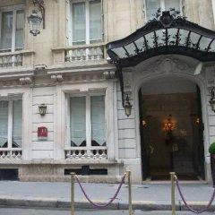 Hotel Mayfair Paris Париж вид на фасад