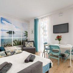 Апартаменты P&O Apartments Kasprzaka комната для гостей