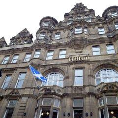 Отель Hilton Edinburgh Carlton вид на фасад фото 2
