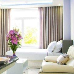 Апартаменты Nha Trang Luxury Serviced Apartment комната для гостей фото 3