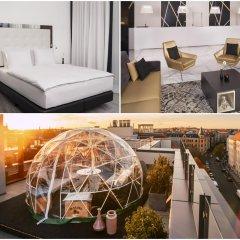 Отель INNSIDE by Meliá Leipzig комната для гостей