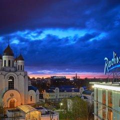 Отель Radisson Blu Калининград пляж