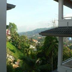 Отель Oak Ray Serene Garden Канди балкон