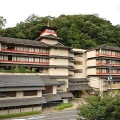 Отель Misasa Yakushinoyu Mansuirou Мисаса балкон