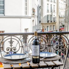 Отель Quartier Latin - Romantic Luxury & Family Apart балкон