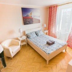 Гостиница on Peschanaya 6 в Москве отзывы, цены и фото номеров - забронировать гостиницу on Peschanaya 6 онлайн Москва комната для гостей фото 3