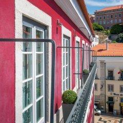 Отель Rossio Garden Hotel Португалия, Лиссабон - отзывы, цены и фото номеров - забронировать отель Rossio Garden Hotel онлайн балкон