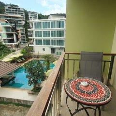Отель Di Pantai Boutique Beach Resort балкон