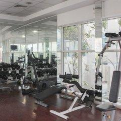 Апартаменты OYO 133 Home Studio Tecom Al Barsha фитнесс-зал