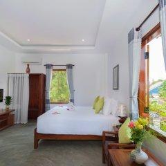 Отель An Bang Rainbow Beach Homestay Хойан комната для гостей фото 4